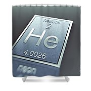 Helium Chemical Element Shower Curtain