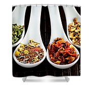 Herbal Teas Shower Curtain
