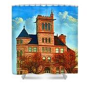 Historic City Hall Springfield  Mo Shower Curtain