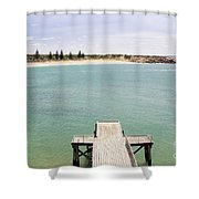 Horseshoe Bay South Australia Shower Curtain