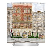 Hotel Washington Square Shower Curtain