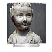 Houdon's Alexandre Brongniart Shower Curtain