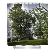 House On The Hill 3 Shower Curtain