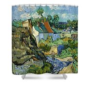 Houses At Auvers Shower Curtain