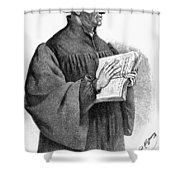 Huldreich Zwingli (1484-1531) Shower Curtain