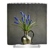 Hyacinth Still Life Shower Curtain