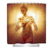 I Am Love Shower Curtain