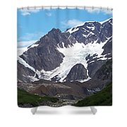 Ice And Snow Shower Curtain
