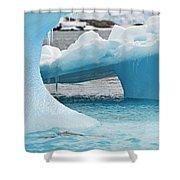 Ice Ice Baby.. Shower Curtain