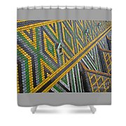 Iconic Rooftop Shower Curtain