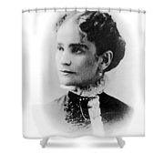 Ida Mckinley (1847-1907) Shower Curtain