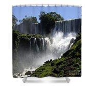 Iguassu Falls Shower Curtain