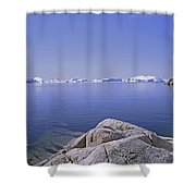 Ilulissat Icefjord Greenland Shower Curtain