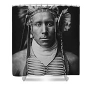 Indian Of North America Circa 1905 Shower Curtain