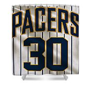Indiana Pacers Uniform Shower Curtain
