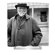 Industrialist Andrew Carnegie Shower Curtain