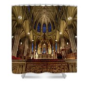 Inside St Patricks Cathedral New York City Shower Curtain