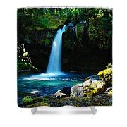 Ironhead Falls Shower Curtain