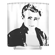 James Dean Shower Curtain