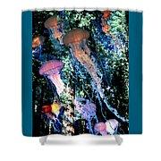 Jellyfish Forest Shower Curtain