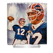 Jim Kelly Shower Curtain
