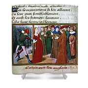 Joan Of Arc (c1412-1431) Shower Curtain