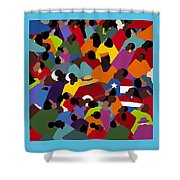 Juneteenth Shower Curtain