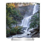 Kaaterskill Falls Square Shower Curtain