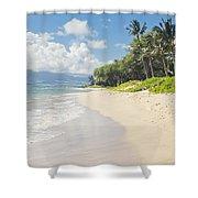 Kawililipoa Beach Kihei Maui Hawaii Shower Curtain