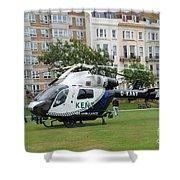 Kent Air Ambulance Shower Curtain