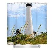 Key Biscayne Lighthouse Shower Curtain