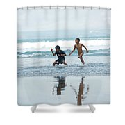 2 Kids Shower Curtain