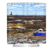 La Rocque - Jersey Shower Curtain