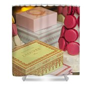 Laduree Sweets Shower Curtain