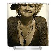 Lady Extra The Great White Hope Set Globe Arizona 1969-1984 Shower Curtain