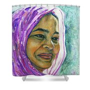 Lady From Bangladesh Shower Curtain