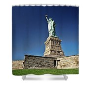 Lady Liberty 2 Shower Curtain