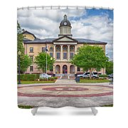 Lake City Courthouse Shower Curtain