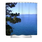 Lake Tahoe 2 Shower Curtain