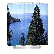 Lake Tahoe 4 Shower Curtain