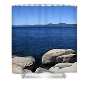 Lake Tahoe Shower Curtain by Frank Romeo