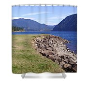 Lakes 3 Shower Curtain