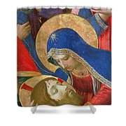 Lamentation Over The Dead Christ Shower Curtain