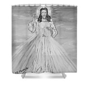 L'amore Shower Curtain