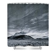 Land Shapes 19 Shower Curtain
