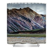 Landmannalaugar Iceland Shower Curtain