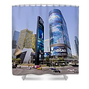 Las Vegas Strip Shower Curtain
