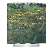 Le Bassin Des Nympheas Shower Curtain