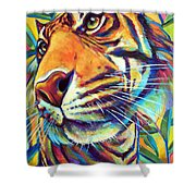 Le Tigre Shower Curtain