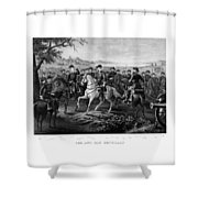 Lee And His Generals Shower Curtain by War Is Hell Store